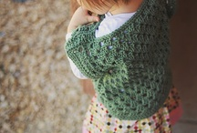 Crochê criança tricô