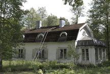 sisäänkäyntien katot