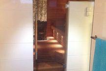 Sauna&kylpyhuone ideoita