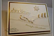 Stampin' Up! ~ Sleigh Ride Edgelits