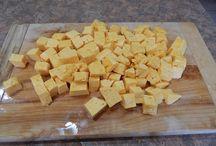 Making homemade cheese / Making homemade cheese!!!!