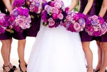 Purple Wedding / All inspiration you need for an incredible purple themed wedding color scheme!   #Purple #Wedding  / by Wedding & Style by CliodhnaL
