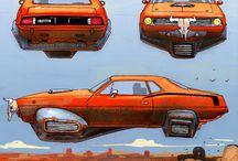 car Sci fi
