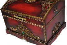 DECORATIVE STORAGE CHESTS, BOXES ETC ETC