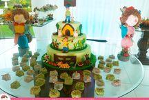 Bolo de Aniversário Fazendinha / Bolo de Aniversário especial de Fazenda por Ana Barros Bolos