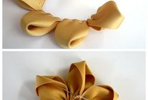 laços de flor