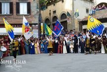 Medieval birthday party in Tuscany / Wedding anniversary and birthday party in Tuscany. By Super Tuscan Wedding Planners.