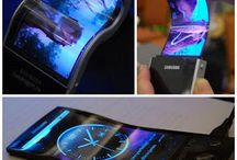 Tecnologia / Uma das últimas tecnologias da Sansung!! Tela Oled flexivel para Smartphones!!