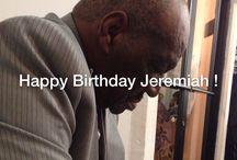 Happy Birthday Jeremiah! / Jeremiah