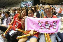 Volleyball fans / A board dedicated to all our amazing fans / by FIVB Volleyball