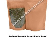 Paper Bags - Clear On One Side Brown Paper On Other Side / Paper Bags - Clear On One Side Brown Paper On Other Side  http://www.pouchdirect.net.au/index.php/kraft-look-pouches/kraft-look-pouch.html