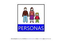 Mapa semántico: Personas