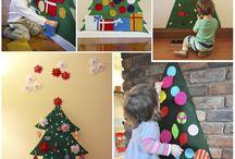 árboles navideños básicos
