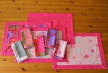 Cloth Napkins / Cloth napkins and napkin folding ideas / by Cherie Killilea