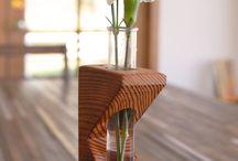 вазы дерево