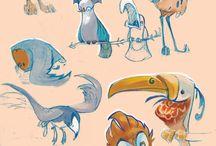 hayvan çizimi