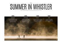 Summer in Whistler