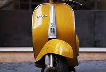 Vespa&motor cycle