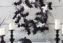 70 Ideen für elegante Schwarzweiss-Halloween-Dekor