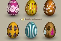 Easter Vector / Easter Egg Vector. Easter Bunny, Easter Greeting Card Background Designs Free Download. ► https://www.123freevectors.com/free-vector-download/easter-vector-art/