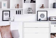 Shelves & closets