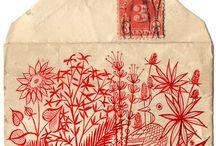 Mail art / by Clémence Gouache