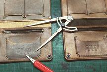 Wallets, belts ecc. Handway hardway. Leather artworks