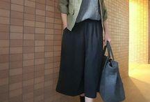 スカートファッション