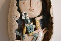 ceramic wallplaque