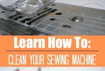 clean your sewing machine