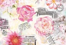 papier scrap collage