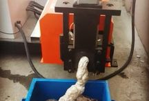 Foam Recycling / Foam recycling machinery and products - melting machines, densifiers, compactors, shredders