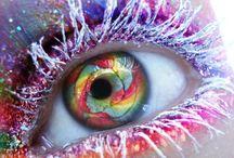 szem szépség