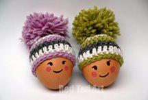 hats foe easter eggs
