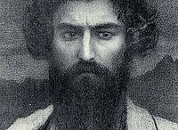 Giovanni Segantini / Giovanni Segantini (Arco, 15 gennaio 1858 – monte Schafberg, 28 settembre 1899) pittore italiano, tra i massimi esponenti del divisionismo.