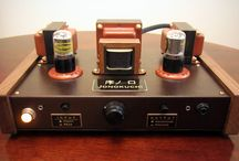 真空管ヘッドフォンアンプ