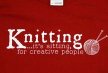Knit & natter / Fun knitting pins