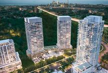 The Ravine on York MIlls / Toronto's newest condo development at the ravine on York Mills Road.