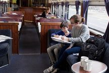 We Tried It: Traveling On A Night Train / One family took a 35 hour, 1,377-mile train trip riding the rails from Seattle to L.A. in a family sleeper cabin. Read about their trip and plan your own.  / by FamilyFun magazine