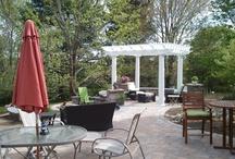 Paver Patios & Outdoor Spaces