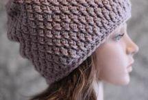 hackovane ciapky \ crochet hat