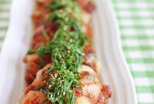 ご飯とビールに合う夏に活躍する鶏肉料理 / 暑い夏にメインとアテを一度で済ませられて、香味野菜もたっぷり摂れる鶏肉料理。