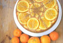 tartas de cítricos/ citrus cakes / tartas y postres con frutas cítricas como protagonistas