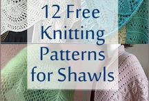 SHAL Knitting pattern ,crochet stitches
