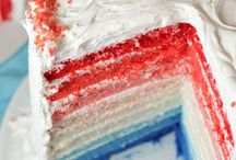 4th of July~~  Red White & Blue things  / by Jenn Meeker