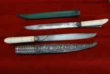 cretan daggers / the traditional daggers of 19th century Crete