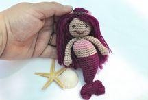 Free Mermaid Crochet Patterns / by Sharon Ojala