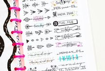 Bullet journal WOOP WOOP