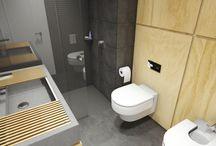 Propuesta de  cuarto de baño / #reforma #arquitectura #diseño #interiorismo #3D #infografias #previsualización3D #iluminación #Gumuzio&PRADA