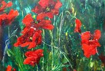 Acrylic paintings / My acrylic paintings  http://www.trollsmed.com